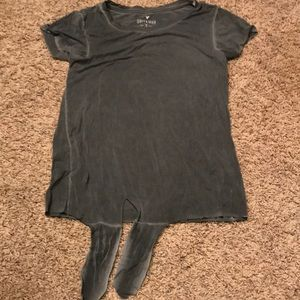 2/$20 American Eagle Soft & Sexy tee, Gray, XS